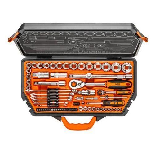 Klucze nasadowe 08-635 1/4 i 1/2 cala 71 elementów + zamów z dostawą jutro! + darmowy transport! marki Neo