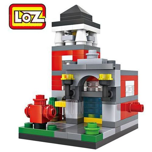 LOZ Street View Architecture ABS Cartoon Building Brick z kategorii Puzzle