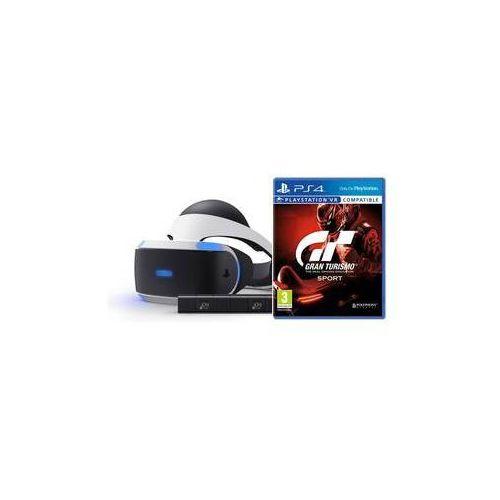 Sony Gogle do wirtualnej rzeczywistości playstation vr + kamera + gran turismo sport (ps719950066)