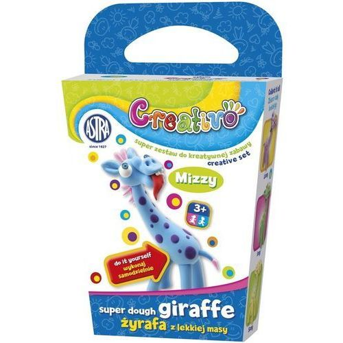 Creativo- Żyrafy z lekkiej masy - ASTRA (5901137079516)