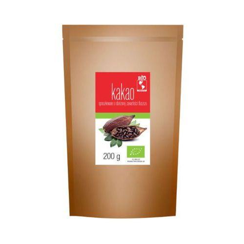 BIO AMERYKA 200g Kakao sproszkowane o obniżonej wartości tłuszczu Bio