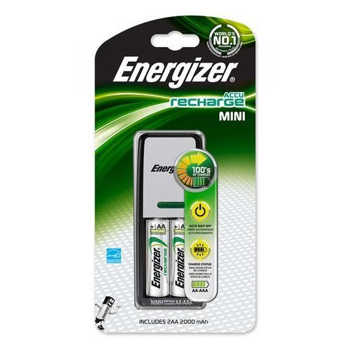 Energizer Ładowarka mini charger 2xaa 2000mah darmowy odbiór w 20 miastach! (7638900274820)