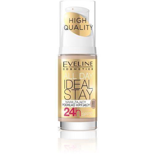 Eveline Podkład nawilżająco-kryjący All Day Ideal Stay nr 81 Nude 30ml - EVELINE KOLOROWKA (5901761941715)