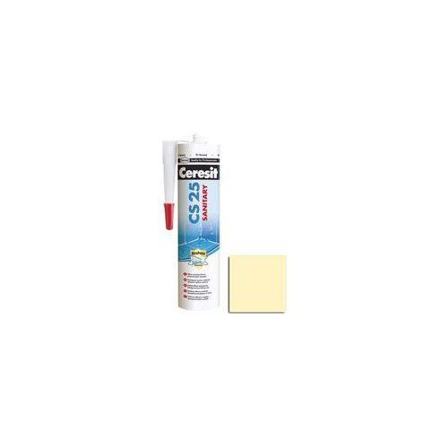Ceresit Silikon sanitarny cs-25 280 ml żółty pastelowy (4015000414326)