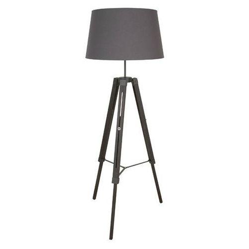 Corep Octave-lampa podlogowa statyw drewno & tkanina wys.163cm