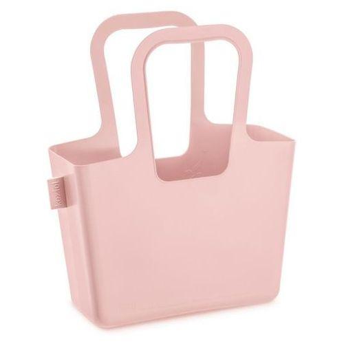 Wielofunkcyjna torba na zakupy, plażę taschelino - kolor pudrowy różowy, marki Koziol