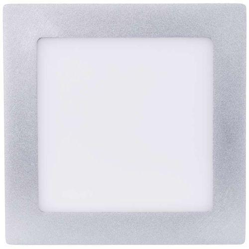 EMOS kwadratowa lampa LED, 12W, biały neutralny, srebrna