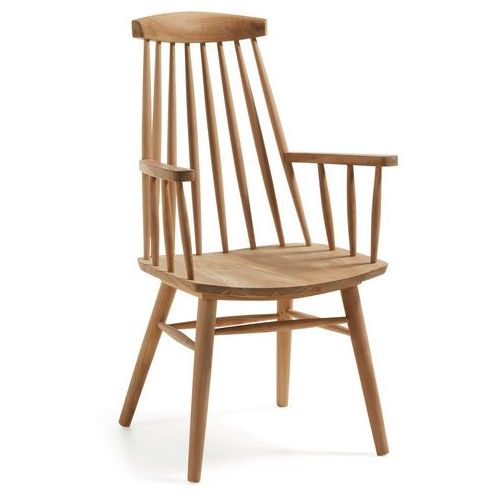 9design Krzesło drewniane rodriguez z podłokietnikami