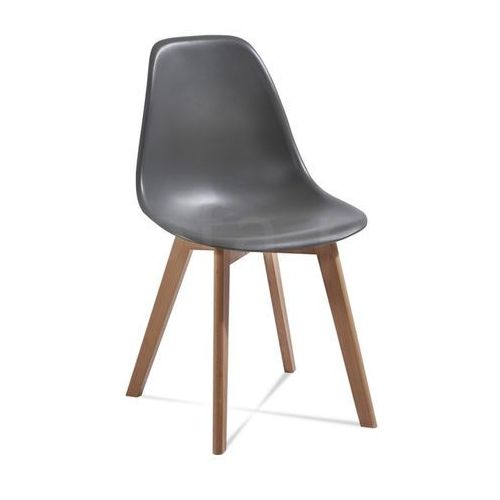"Krzesło ""VITO"" ciemno szare"