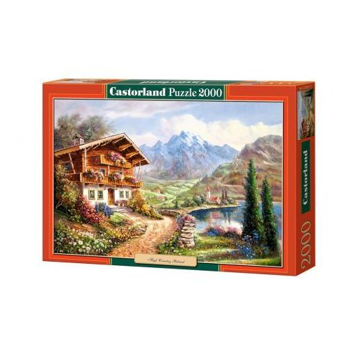 Castorland , copy of high country, puzzle, 2000 elementów (5904438200511)