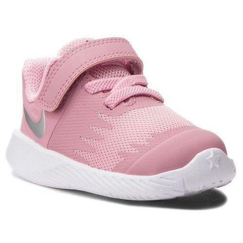 Nike Buty - star runner (tdv) 907256 601 elemental pink/metallic silver