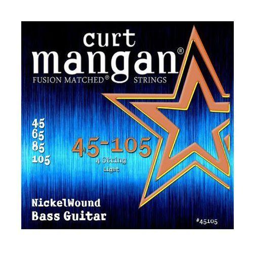 Curt mangan 45-105 nickel wound bass