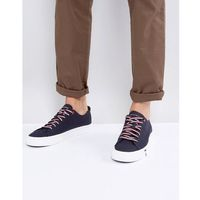 Tommy Hilfiger Dino Canvas Trainers in Navy - Navy, kolor szary