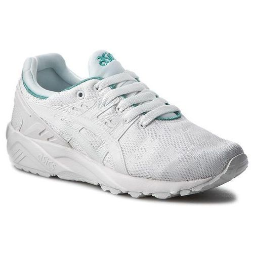 Asics Sneakersy - tiger gel-kayano trainer evo h7q6n white/white 0101