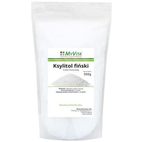 ksylitol fiński (cukier brzozowy) 500g od producenta Myvita