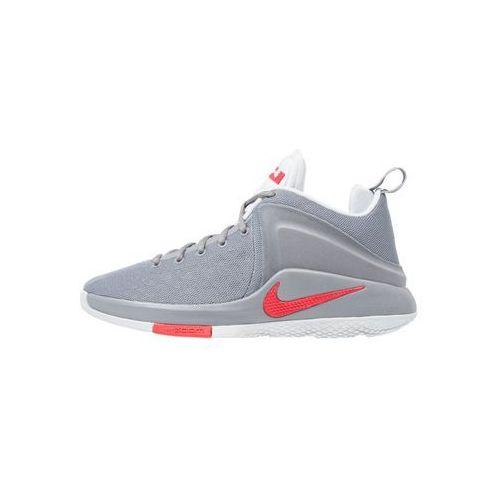 Nike Performance LEBRON WITNESS Obuwie do koszykówki cool grey/university red/pure platinum (0882801658150)