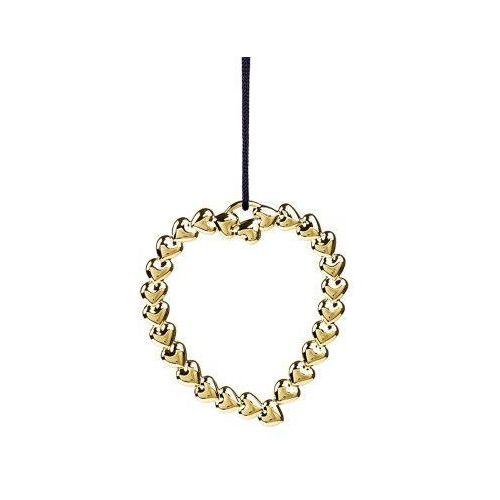 Rosendahl Ozdoba świąteczna serce wieniec karen blixen, złote -