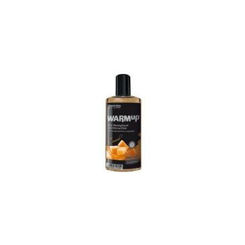 Rozgrzewający olejek do masażu joy division warmup caramel 150ml marki Joy division (ge)