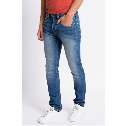 Review - Jeansy Simon Slim Bright Blue, jeans