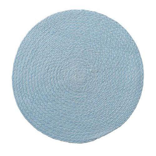 Bloomingville Podkładka pod talerz z juty 38 cm niebieska