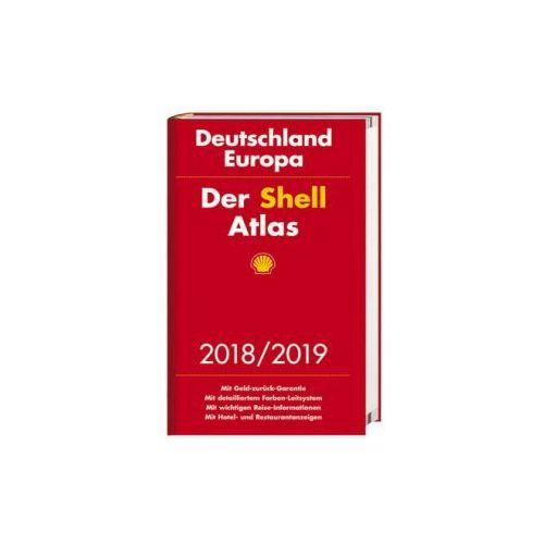 Der Shell Atlas 2018/2019 Deutschland 1:300 000, Europa 1:750 000 (9783826460517) - OKAZJE