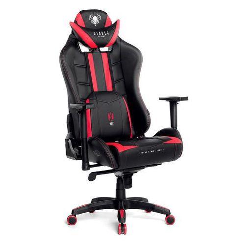 Fotel dla gracza x-ray czarno-czerwony rozmiar xl marki Diablo chairs