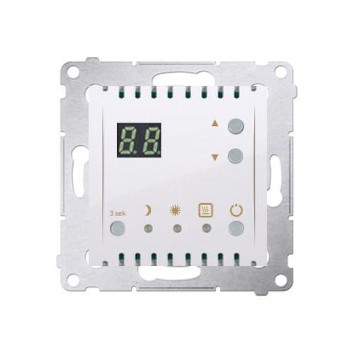 Kontakt-simon Regulator temparatury simon 54 dtrnw.01/11 z wyświetlaczem biały