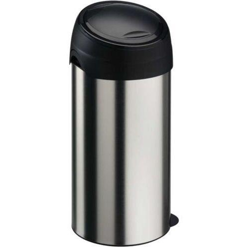 Kosz na śmieci metalowy 60 l z pokrywą soft touch kosz na śmieci marki Meliconi