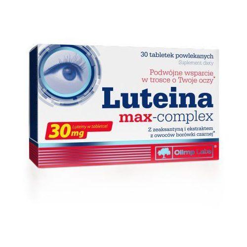 Luteina max-complex 30 tabletek - produkt farmaceutyczny