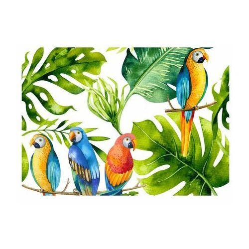 Alfa-cer Deska do krojenia parrots (5902027036589)