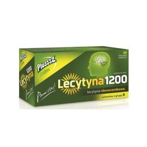 PLUSSSZ Active Lecytyna 1200 x 30 kapsułek