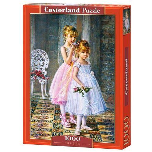 Puzzle Castorland. 1000 elementów.(C-103218) Baletnice + zakładka do książki GRATIS