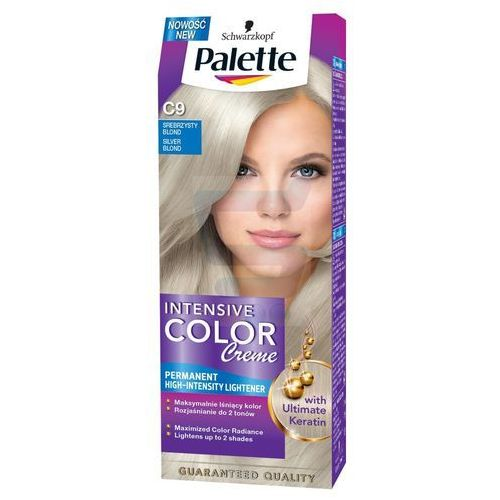 PALETTE Intensive Color Creme C9 Srebrzysty blond Farba do włosów