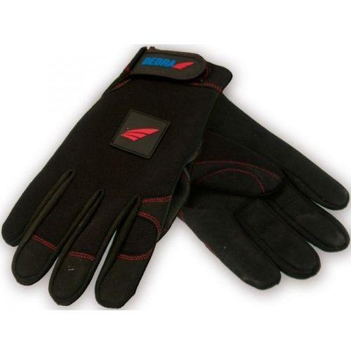Rękawice robocze bh1002l czarny (rozmiar l) marki Dedra