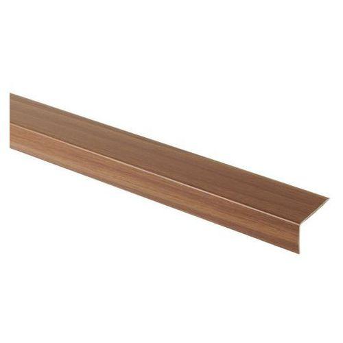 Goodhome Profil schodowy 35 x 25 x 900 mm ciemne drewno (3663602535331)