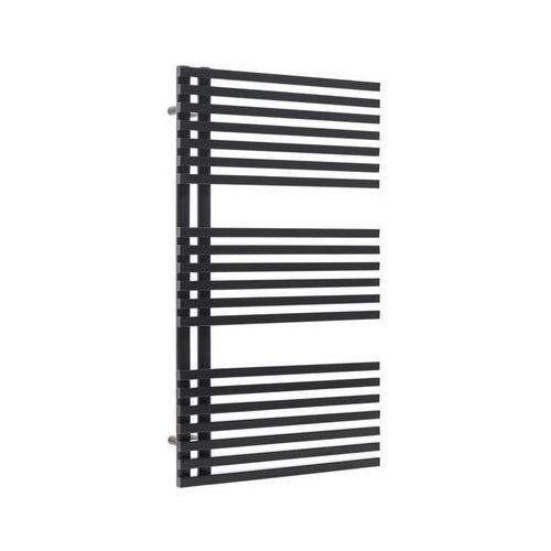 Luxrad Grzejnik łazienkowy ebest 883x500 czarny mat (5907667857372)