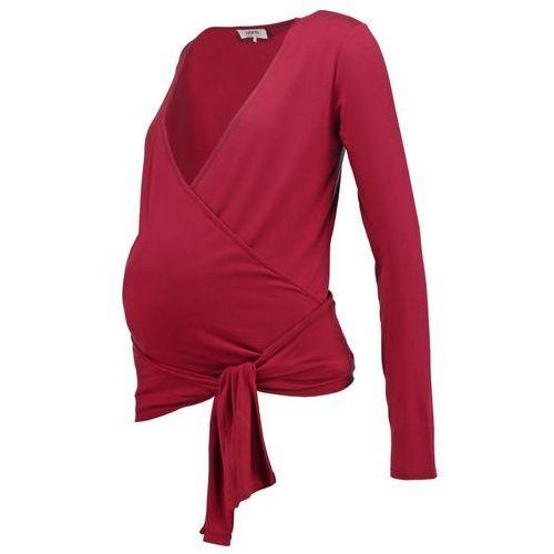 Zalando Essentials Maternity Bluzka z długim rękawem dark red