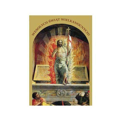 Edycja św. pawła Wielkanocny karnet złocony z kopertą