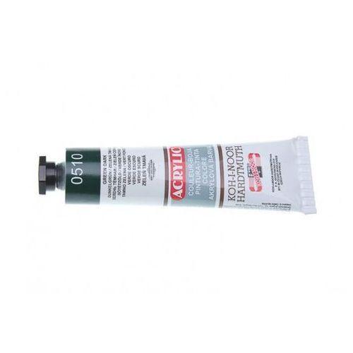 Farba akrylowa Acrylic 510 Zielony Ciemny 40ml (8593540011671)