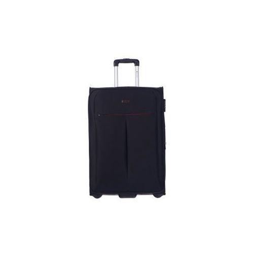 PUCCINI walizka duża z kolekcji LATINA miękka 2 koła materiał Polyester zamek szyfrowy możliwość poszerzenia