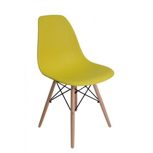 Krzesło Paris Żółte - produkt z kategorii- Krzesła