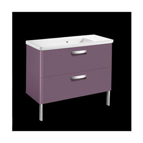 ROCA GAP-N zestaw UNIK 100: umywalka + szafka, kolor FIOLET MAT A855999385 (8433290394313)
