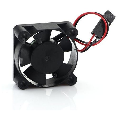 Practical specified dc 5v cooler cooling fan for raspberry pi b+ aluminum alloy box, marki Gearbest
