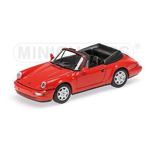 Porsche 911 Carrera 2 Cabriolet 1990 (red)