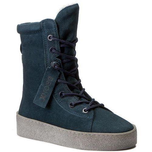 Bronx Botki - 46995-c bx 1418 blue/grey 570
