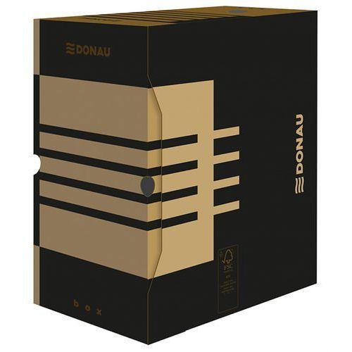 Pudło archiw. DONAU A4 150mm kartonowe - brązowe, 7663301FSC-02