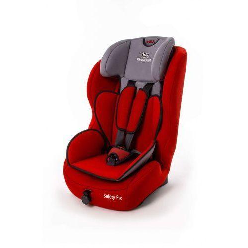 Kinderkraft fotelik samochodowy safety-f red z systemem isofix (5902021215263)
