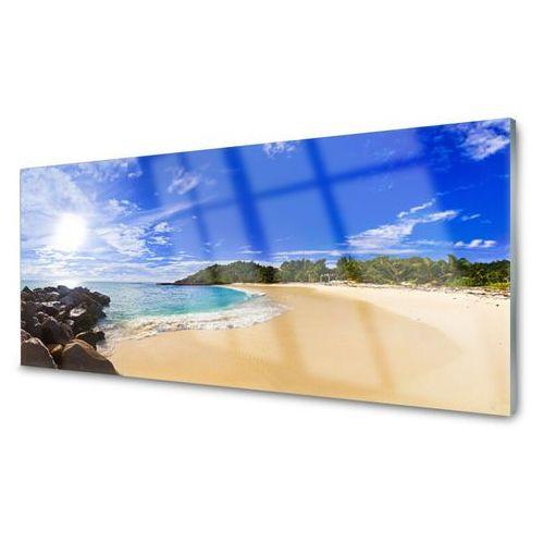 Tulup.pl Obraz akrylowy słońce morze plaża krajobraz