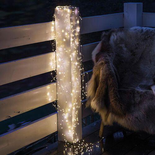 Łańcuch świetlny led knirke zewnętrzny, 200-pkt. marki Sirius