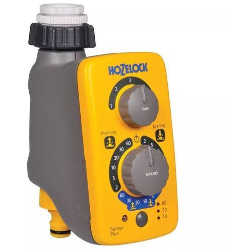 Hozelock Programator elektroniczny wody plus z czujnikiem (5010646057967)